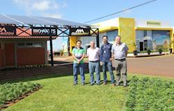 Show Rural Coopavel tem maior planta de placas solares do Paraná