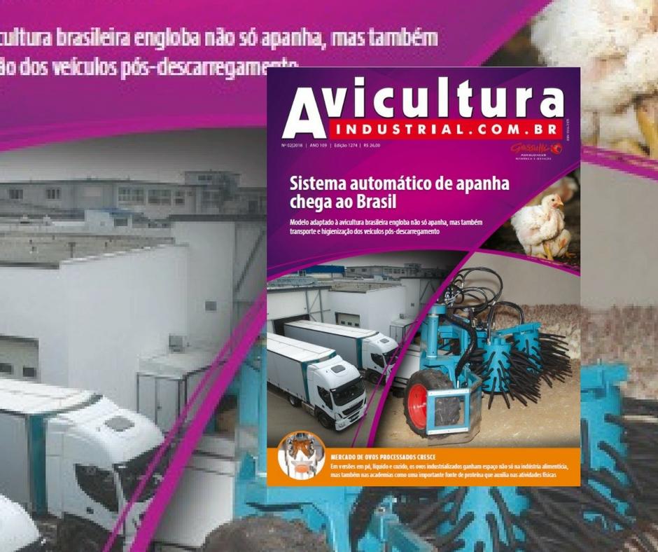 Industrialização nos ovos e apanha automática de frangos
