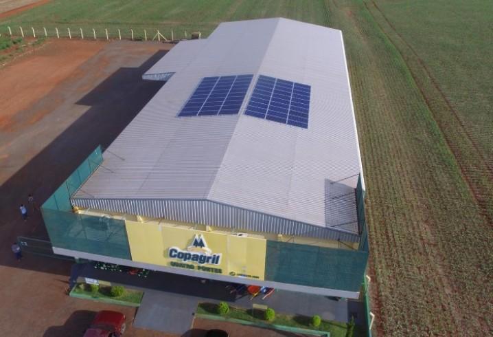 Copagril lança projeto-piloto de produção de energia solar