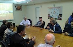 Ministro interino visita SC e fala de reabertura das exportações para UE