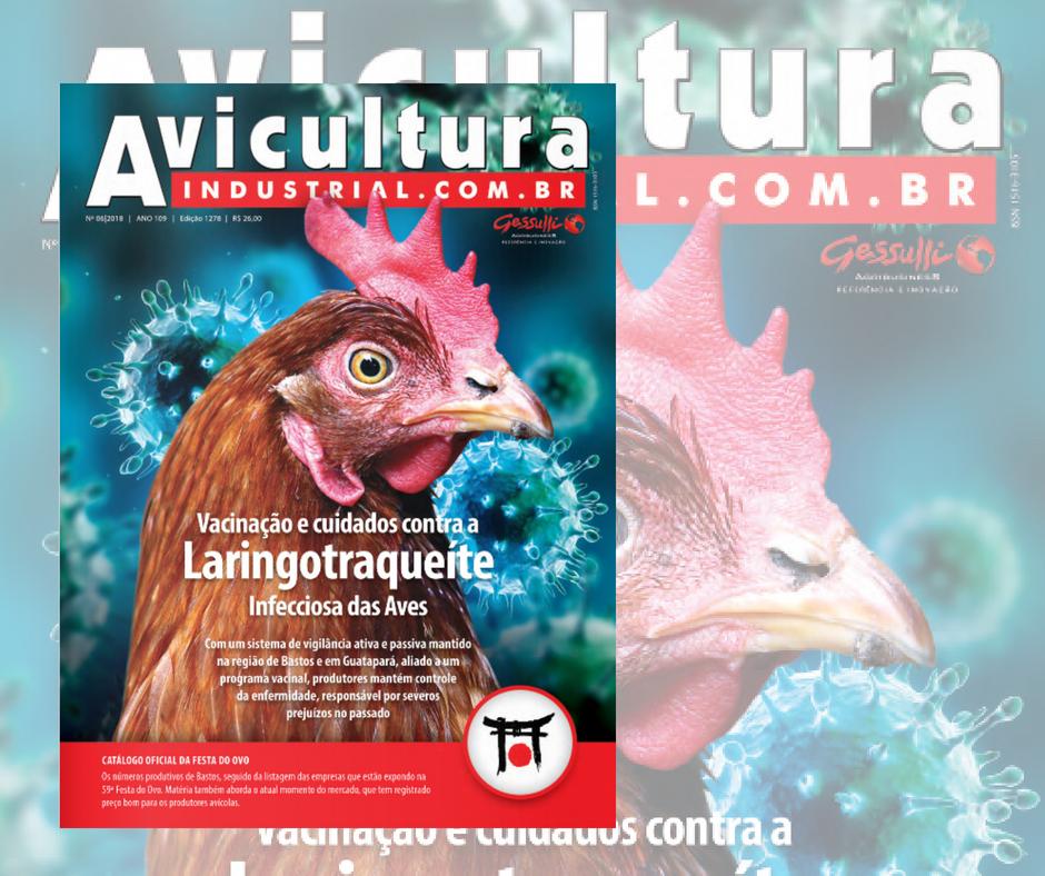 Nova edição da Avicultura Industrial já está disponível no site