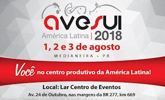 AveSui 2018 começa nesta quarta-feira, dia 1º, em Medianeira