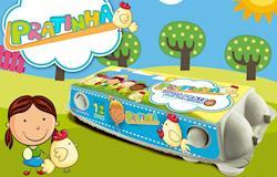 Ovos Prata e Sanovo lançam produto com embalagem para crianças