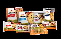Aurora lança novas receitas e embalagens de produtos