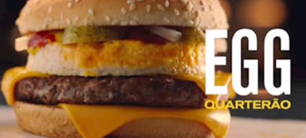 McDonald's insere o ovo em novos lanches do cardápio