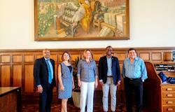 Esalq recebe comitiva da Câmara de Comércio Afro-Brasileira