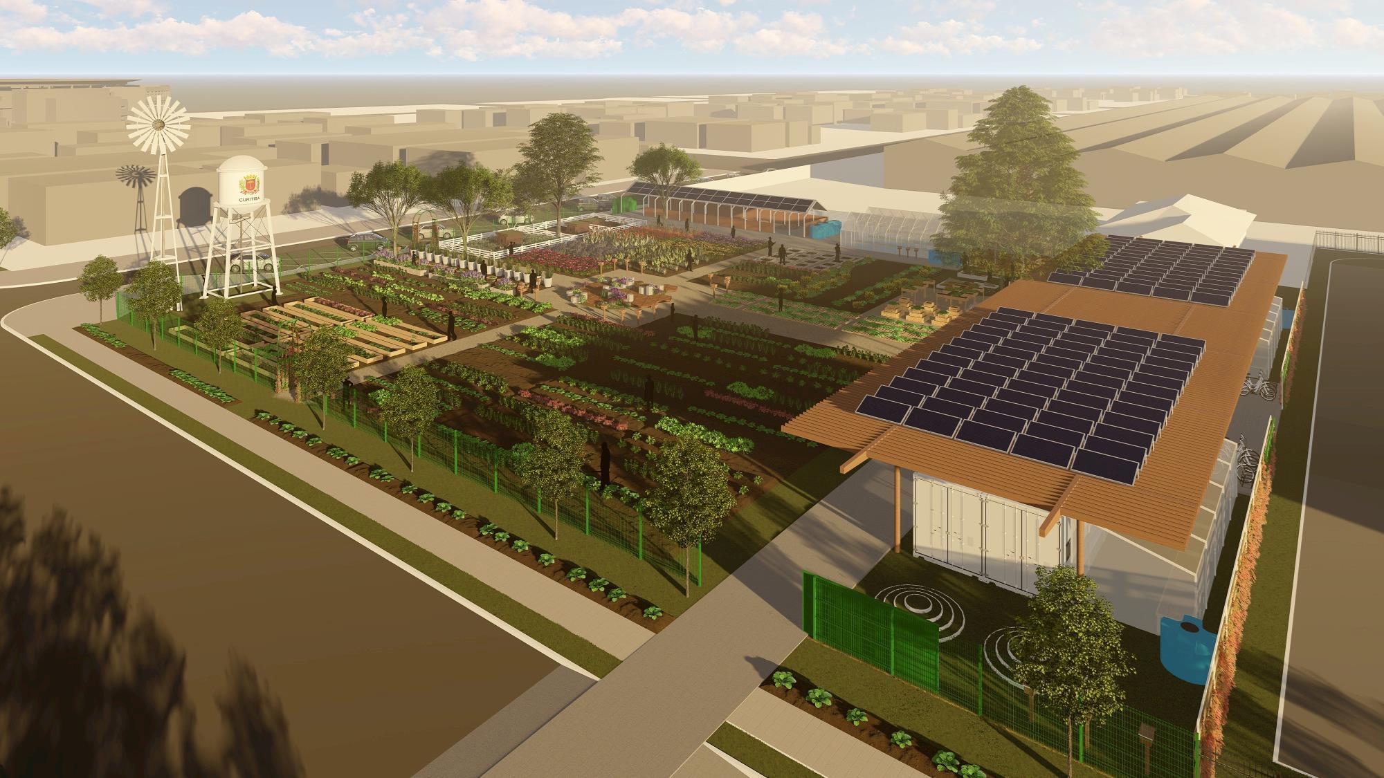 Curitiba terá fazenda urbana sustentável