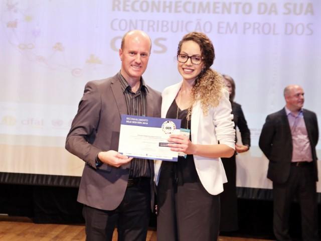 Primato recebe certificação e selo no Prêmio Sesi ODS 2018 em Curitiba