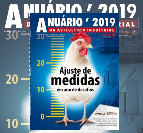 Anuário da Avicultura Industrial: 2019 será melhor para a avicultura