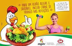 Campanha estimula consumo de carne de frango no verão