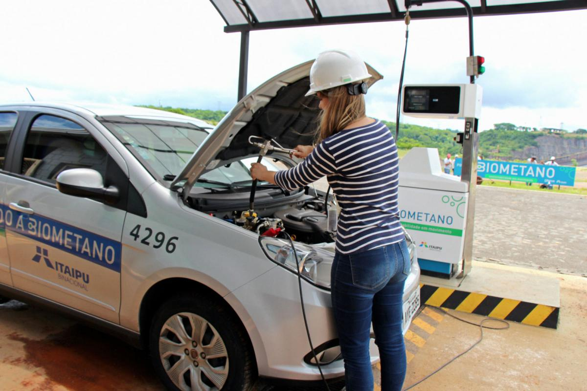 Unidade de Demonstração de Biogás e Biometano  da Itaipu produziu 17.458 m³ em 2018