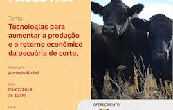Setor pecuário terá palestras técnicas durante Show Rural