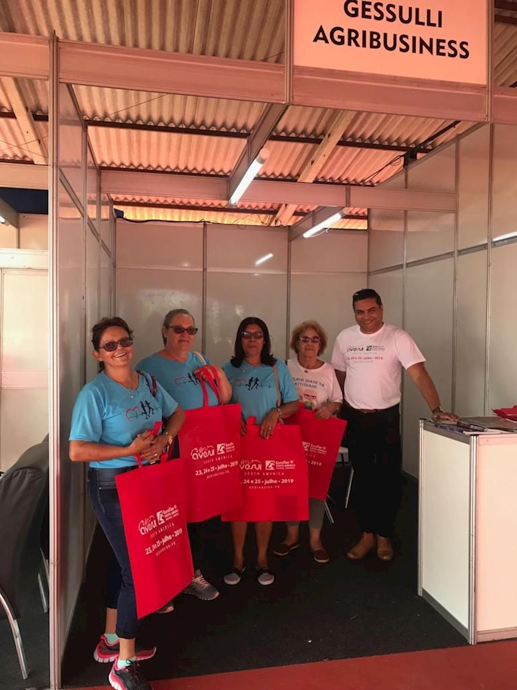 Equipe AveSui EuroTier South America fortalece parcerias durante Show Rural