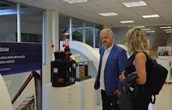 Em visita a Concórdia, presidente da Embrapa fala em parcerias