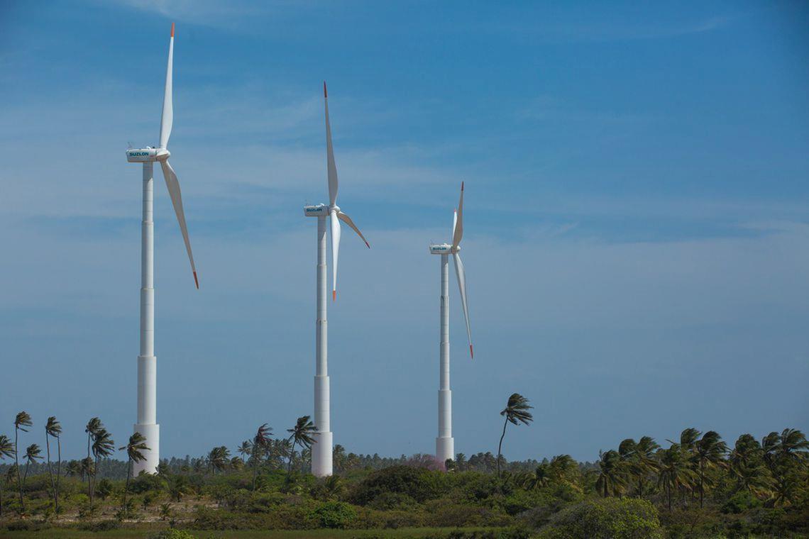 Brasil fica em 5º colocado no ranking mundial de capacidade eólica