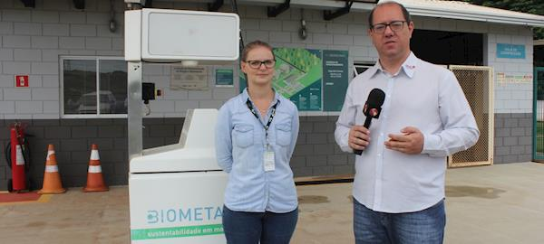 Unidade de Demonstração de Biogás e Biometano transforma resíduos de restaurante em biocombustível