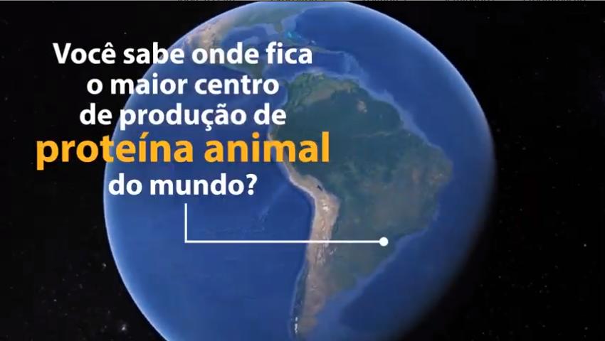 Você sabe onde fica o maior centro produtivo de proteína animal do mundo?