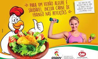 Cobb e Asgav informam os consumidores  sobre os benefícios do frango