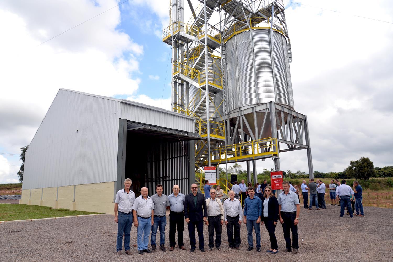 Languiru inaugura Unidade de Recebimento de Grãos em Venâncio Aires