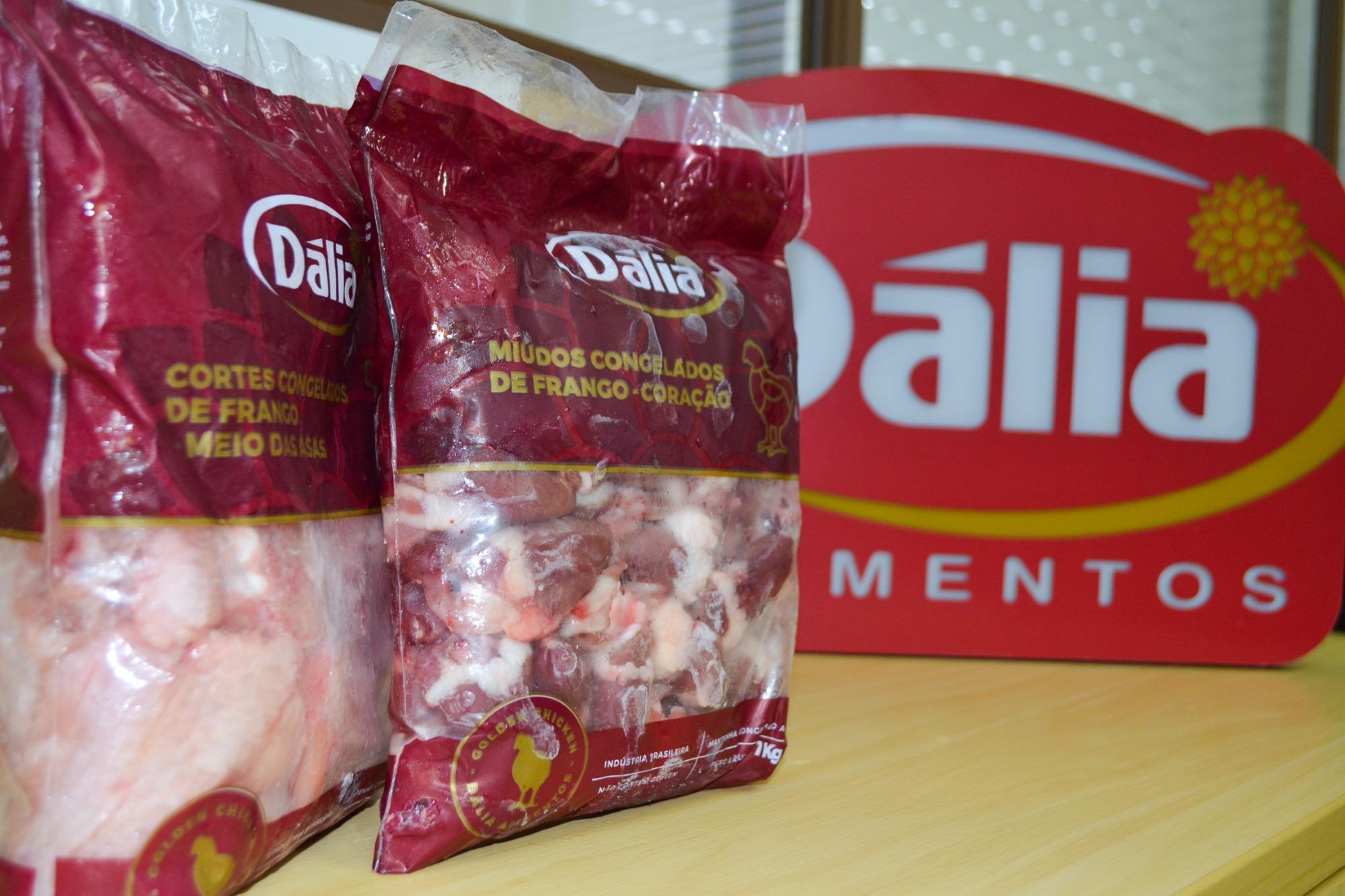 Frango Dália Golden Chicken é apresentado ao mercado de forma experimental