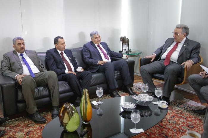 CNA recebe delegação de Omã para estudar parcerias comerciais com o Brasil
