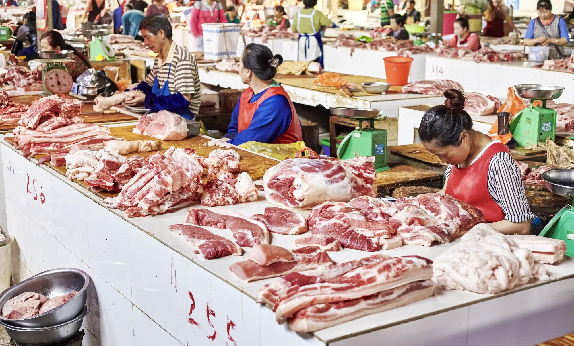 Consumo de carne suína na China deve cair entre 10 e 15%, estima Rabobank