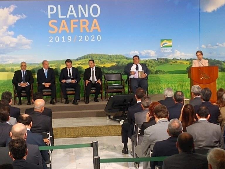 Governo lança plano safra com R$ 225,59 bilhões