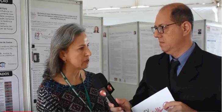 Odete Volz fala sobre os programas desenvolvidos pela Adapar no controle da Influenza Aviária