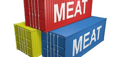 Exportações de carne de frango foram 6% menores na parcial do mês