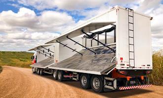 Nova carreta rompe paradigmas no Transporte de Biomassa