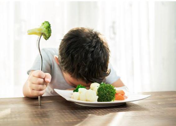 Por que as crianças não gostam de vegetais?