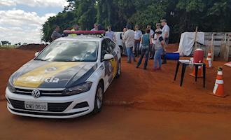 USP e Polícia Rodoviária realizam treinamento em caso de acidente com carga viva