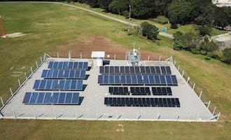 Copel e UTFPR inauguram estações de pesquisa em energia solar