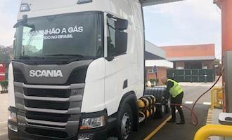 Scania aposta no gás e traz produção para o Brasil