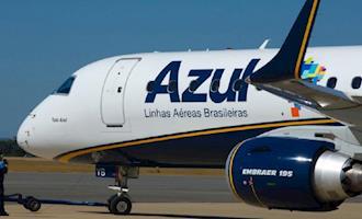 Azul terá voos extras para atender demanda do Show Rural Coopavel