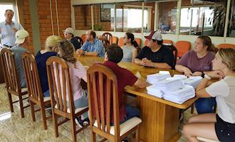 Show Rural recebe comitiva de estudantes do Texas
