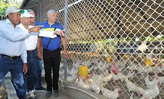 Ministro da Agricultura visita áreas afetadas Newcastle