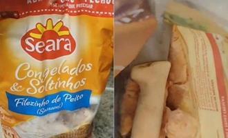 Procon notifica Seara após consumidor encontrar faca em pacote de frango