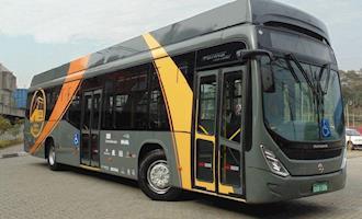 Operação de ônibus elétrico da UFSC é suspensa por falta de verba