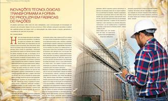 Inovações tecnológicas transformam a forma de produzir em fábricas de rações