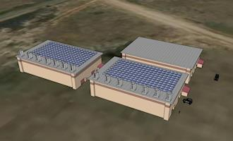Engenheiros criam gerador de energia eólica que pode ser instalado em edifícios