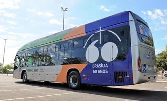 Ônibus elétricos começam a circular nesta segunda-feira em Brasília