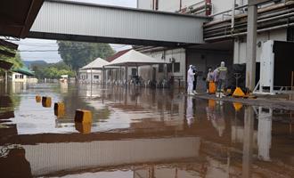 Frigorífico afetado por enchente retoma atividades na segunda-feira, dia 13