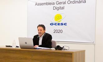 Luiz Vicente Suzin é reeleito presidente da OCESC
