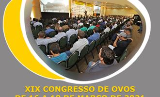 XIX Congresso de Ovos tem nova data