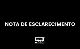 ACCS se manifesta contra instalação de abrigo para animais próxima Central de Coleta e Difusão Genética