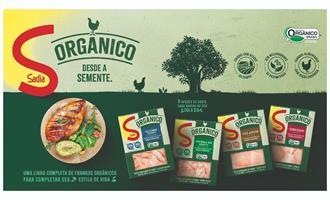 BRF lança linha de frango orgânico da Sadia