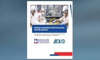 IICA e ALA lançam manual de boas práticas para setor avícola enfrentar a covid-19