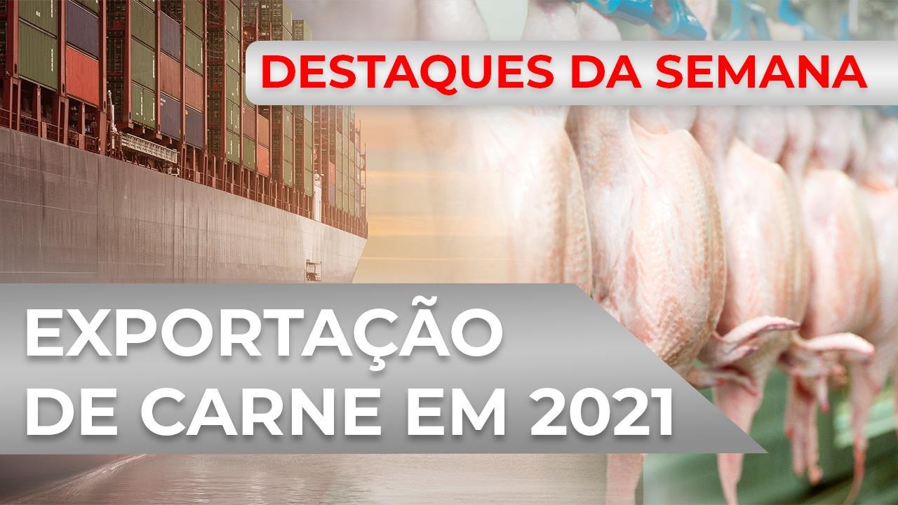 DESTAQUES - Brasil deve continuar exportando mais carne em 2021, aponta Rabobank