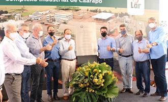 Cooperativa Lar inaugura complexo industrial de soja em Caarapó